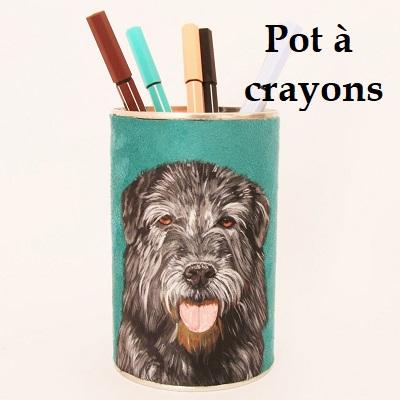 accessoire pot à crayons