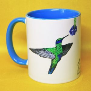 Mug colibri La Kitsch Lorraine