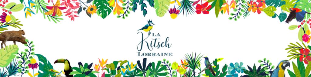 Bannière tropicale La Kitsch Lorraine