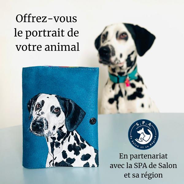 portrait de votre animal protection animale la kitsch lorraine