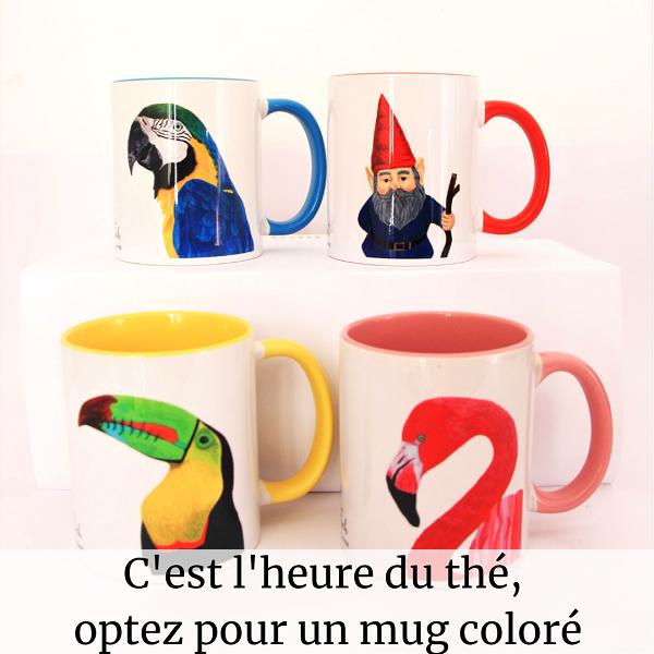 Mug signé La Kitsch Lorraine