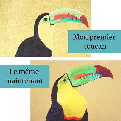 Mon premier toucan La kitsch lorraine