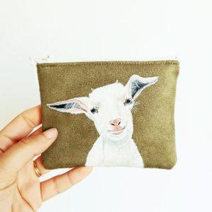 porte monnaie chèvre 2